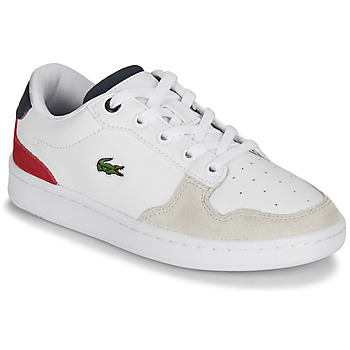 Skor Barn Sneakers Lacoste MASTERS CUP 120 2 SUC Vit / Bl? / R?d