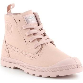 Skor Dam Boots Palladium Pampa LDN LP 96468-612-M pink