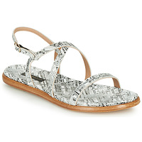 Skor Dam Sandaler Neosens AURORA Vit / Silverfärgad