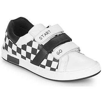 Skor Pojkar Sneakers Chicco CANDITO Vit / Svart