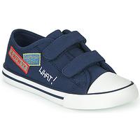 Skor Pojkar Sneakers Chicco COCOS Marin / Vit