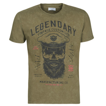 textil Herr T-shirts Casual Attitude MCOOL Kaki