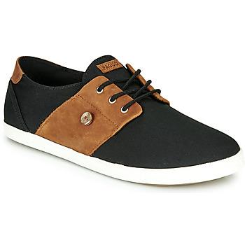 Skor Herr Sneakers Faguo CYPRESS Svart / Brun