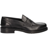 Skor Herr Loafers L'homme National 301 Black