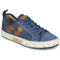 Skor Pojkar Sneakers Geox J ALONISSO BOY Blå / Brun