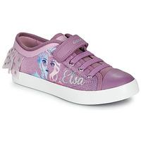 Skor Flickor Sneakers Geox JR CIAK GIRL Violett