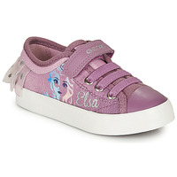 Skor Flickor Sneakers Geox JR CIAK GIRL Violett
