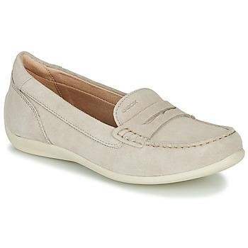 Skor Dam Loafers Geox D YUKI Beige