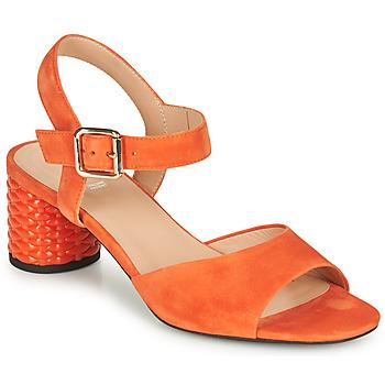 Skor Dam Sandaler Geox D ORTENSIA MID SANDA Orange