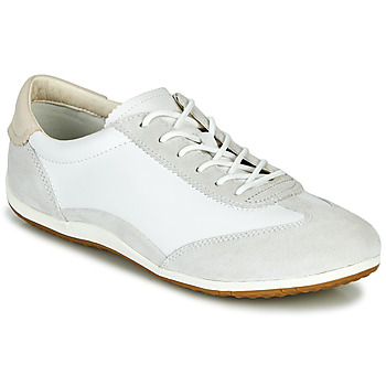 Skor Dam Sneakers Geox D VEGA Vit / Grå