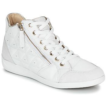Skor Dam Höga sneakers Geox D MYRIA Vit