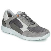 Skor Herr Sneakers Geox U ERAST Grå / Vit / Orange