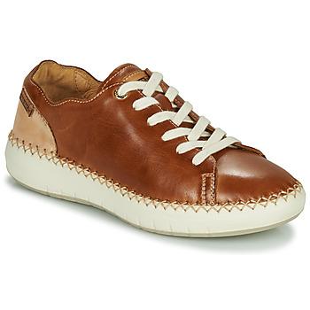 Skor Dam Sneakers Pikolinos MESINA W6B Brun / Beige