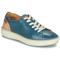 Skor Dam Sneakers Pikolinos MESINA W6B Blå / Rosa