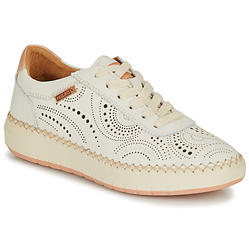 Skor Dam Sneakers Pikolinos MESINA W6B Vit / Rosa