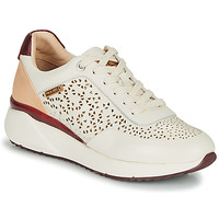 Skor Dam Sneakers Pikolinos SELLA W6Z Vit / Bordeaux