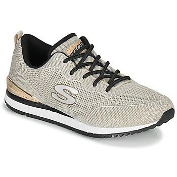 Skor Dam Sneakers Skechers SUNLITE MAGIC DUST Grå / Guldfärgad