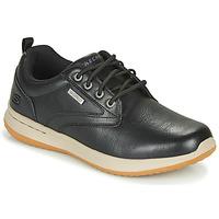 Skor Herr Sneakers Skechers DELSON ANTIGO Svart