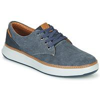 Skor Herr Sneakers Skechers MORENO EDERSON Blå / Brun