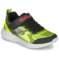 Skor Pojkar Sneakers Skechers GO RUN 600 BAXTUX Svart / Gul