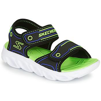 Skor Pojkar Sportsandaler Skechers HYPNO-SPLASH Blå / Grön