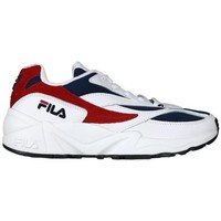 Skor Dam Sneakers Fila V94M Low Vit,Röda