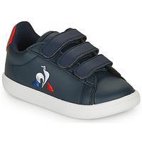 Skor Barn Sneakers Le Coq Sportif COURTSET INF Marin / Röd