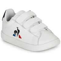 Skor Barn Sneakers Le Coq Sportif COURTSET INF Vit