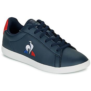 Skor Barn Sneakers Le Coq Sportif COURTSET GS Marin / Röd