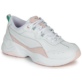 Skor Dam Sneakers Puma CILIA LUX Vit