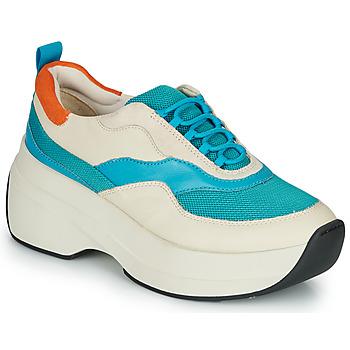 Skor Dam Sneakers Vagabond SPRINT 2.0 Beige / Blå