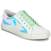 Skor Dam Sneakers Le Temps des Cerises CITY Silver / Vinyl