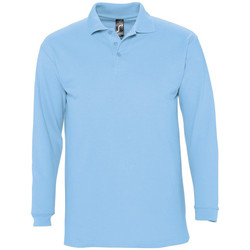 textil Herr Långärmade pikétröjor  Sols WINTER 2 CASUAL MEN Azul