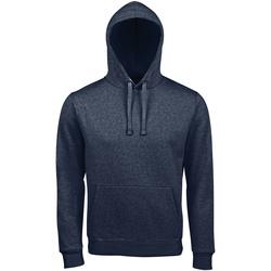 textil Dam Sweatshirts Sols SPENCER KANGAROO WOMEN Azul