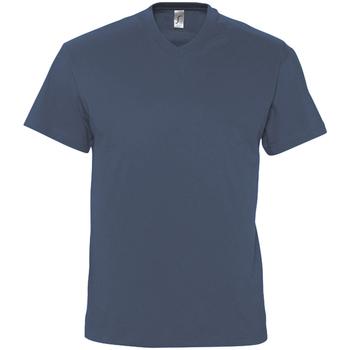 textil Herr T-shirts Sols VICTORY COLORS Azul