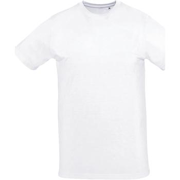 textil Dam T-shirts Sols SUBLIMA CASUAL WOMEN Blanco