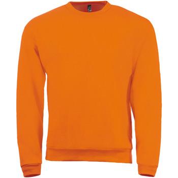 textil Herr Sweatshirts Sols SPIDER CITY MEN Naranja