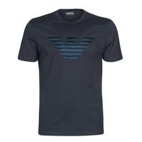 textil Herr T-shirts Emporio Armani DOUNIA Marin