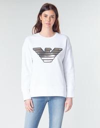 textil Dam Sweatshirts Emporio Armani DJIMMY Vit