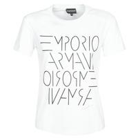textil Dam T-shirts Emporio Armani DONOVANN Vit