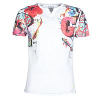 textil Herr T-shirts Desigual LIAN Flerfärgad