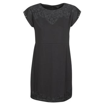 textil Dam Korta klänningar Desigual BANQUET Svart