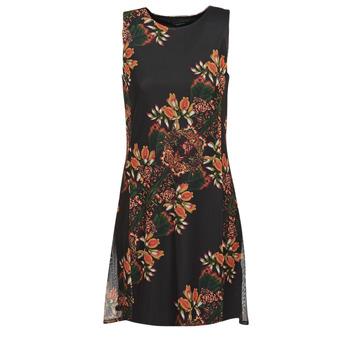 textil Dam Korta klänningar Desigual PAPILLON Flerfärgad