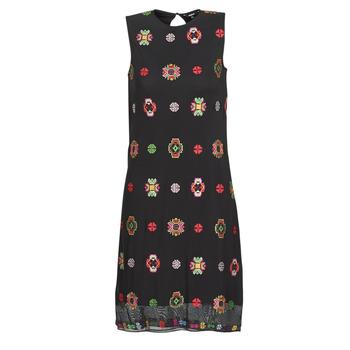 textil Dam Korta klänningar Desigual TRESOR Flerfärgad