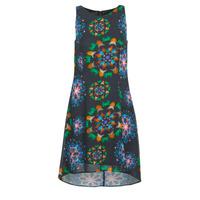 textil Dam Korta klänningar Desigual CLAIR Flerfärgad