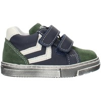 Skor Pojkar Höga sneakers Balocchi 993270 Blue and green