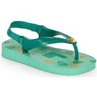 Skor Barn Flip-flops Havaianas BABY DISNEY CLASSICS II Grön