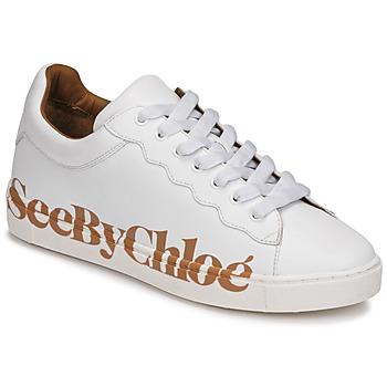 Skor Dam Sneakers See by Chloé SB33125A Vit