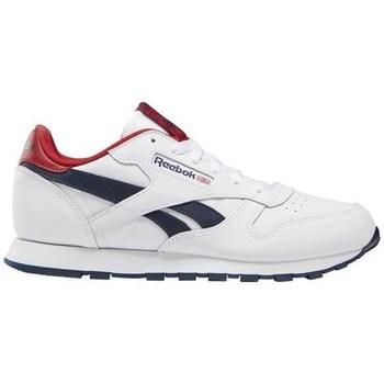 Skor Barn Sneakers Reebok Sport Classic Leather Vit, Röda, Grenade