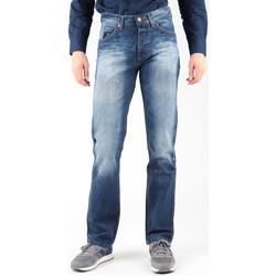 textil Herr Raka byxor Wrangler Ace W14RD421X blue